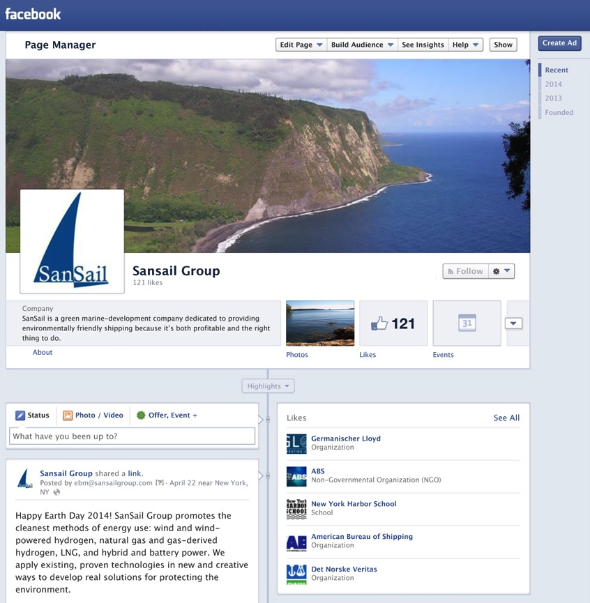 Consultant, Social Media and Website (SanSail)